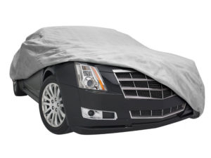 The Budge Rain Barrier car cover