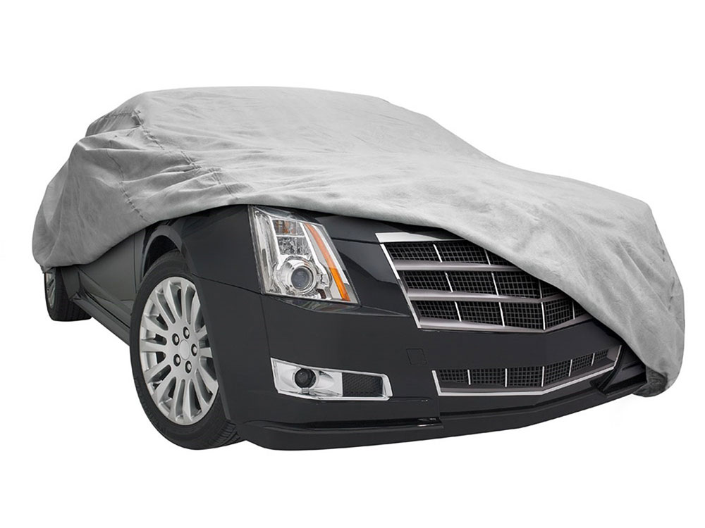 budge car cover reviews	  Budge Rain Barrier Car Cover Review - Auto Gear Lab