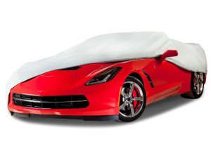 The Budge Premier Tyvek car cover
