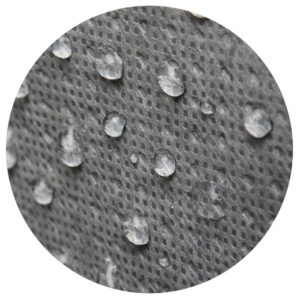 It features a water-repellant material