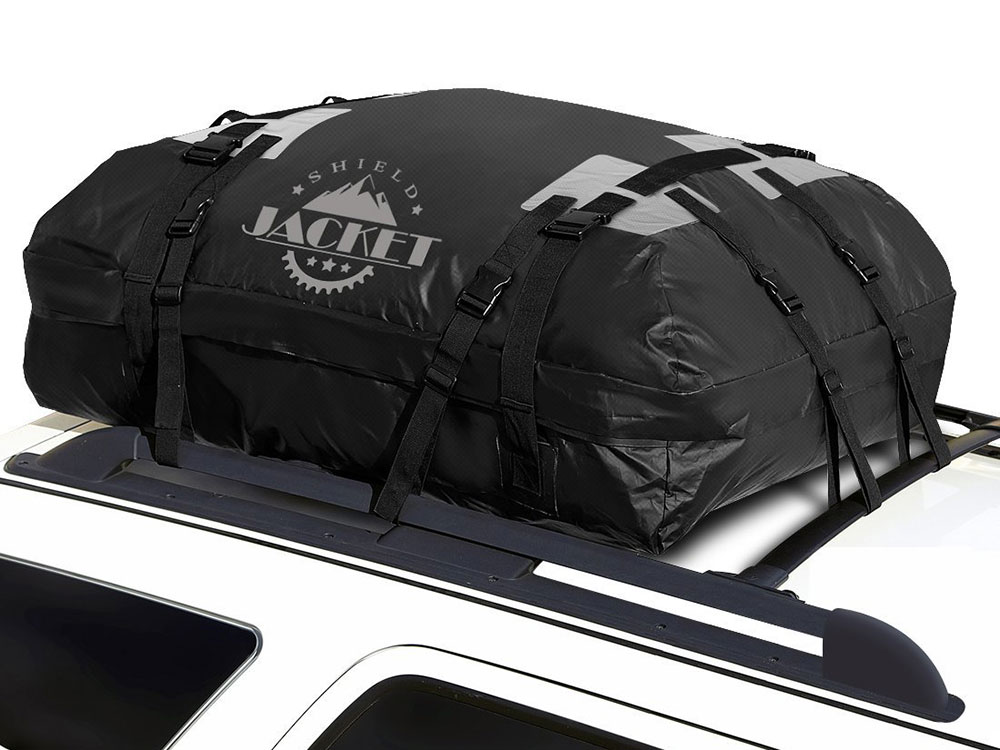 Rooftop Cargo Bag >> SHIELD JACKET Waterproof Roof Top Cargo Bag Review - Auto Gear Lab